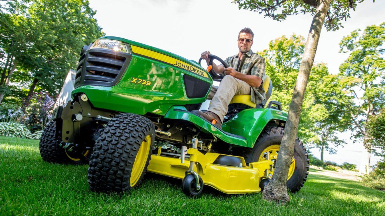 john deere x700 series mower