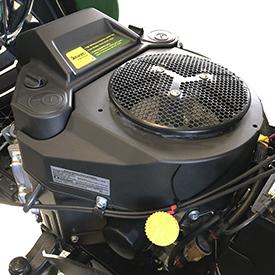 18.5-hp (13.8-kW) engine