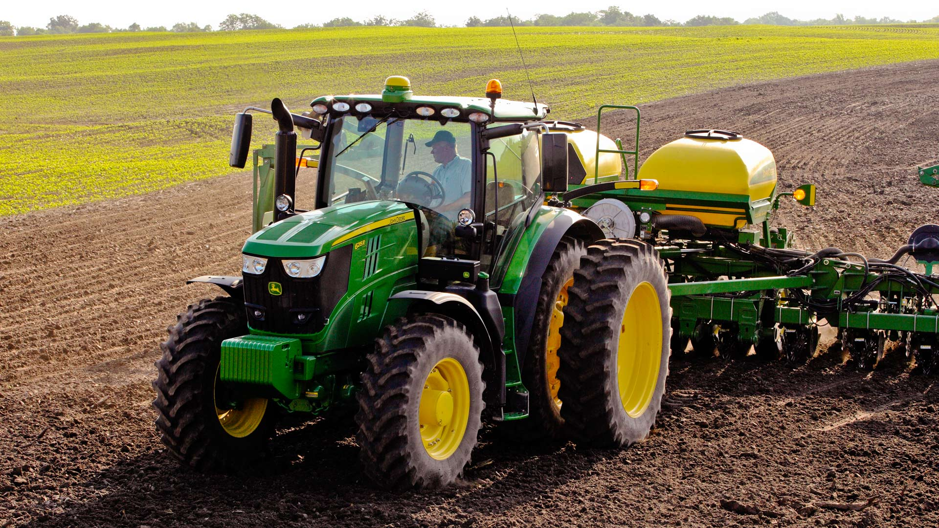 6 family row crop tractor