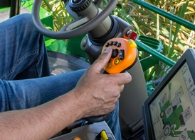Multifunction control lever