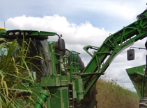 Harvest Monitor installed on a CH570