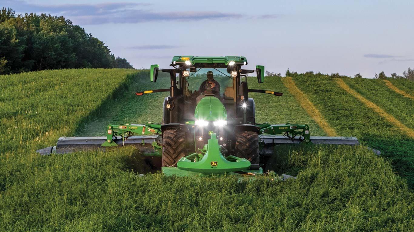 Versatility & Capability precision ag technology
