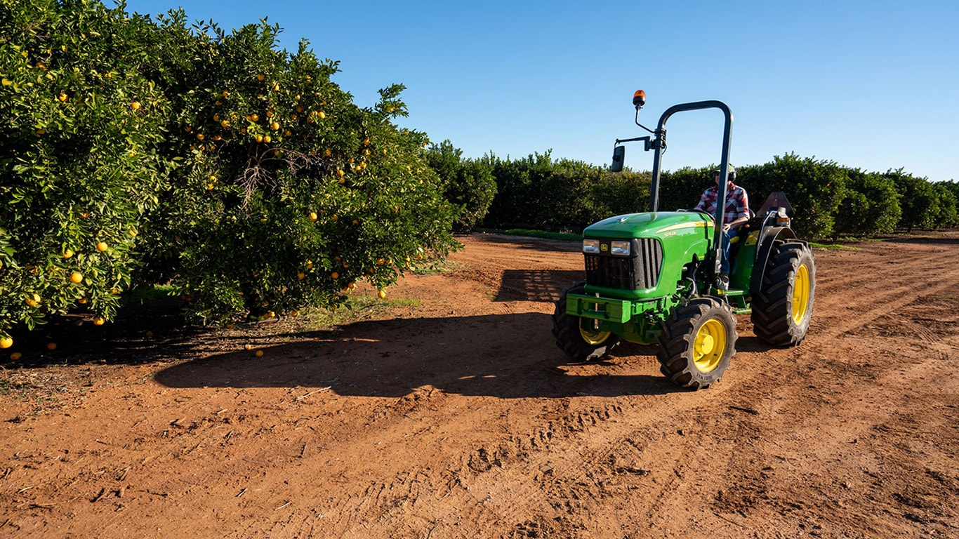 open station specialty tractor